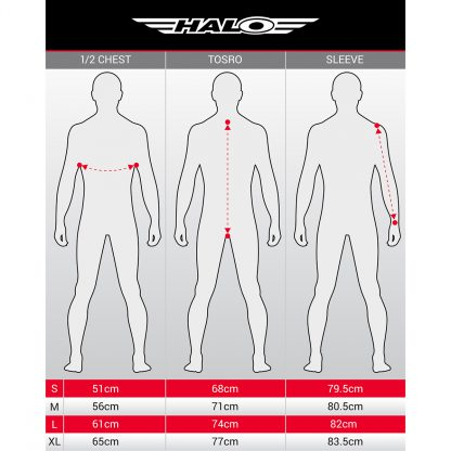 Halo size guide