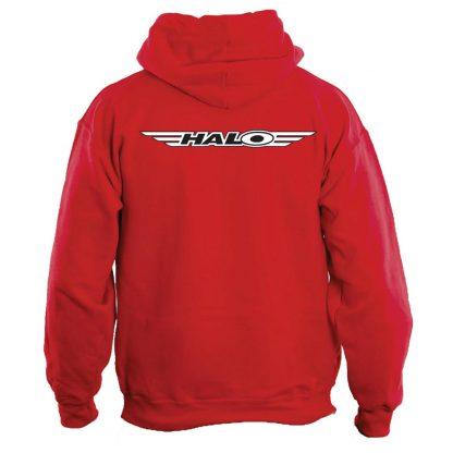 Halo Tech Logo zip Hoodie