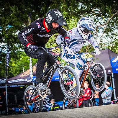 image of Halo BMX Team riding